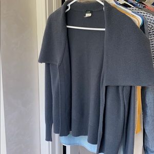 J. Crew Open Sweater